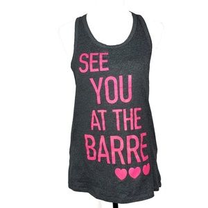 See You At The Barre Pure Barre Tank Top